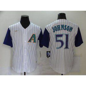 Arizona Diamondbacks Randy Johnson White Jersey